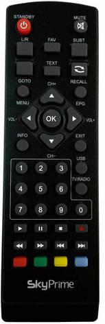 Пульт DVB-T2 SkyPrime V T2 HD, SkyPrime H T2 HD, ERGO T2 302, ERGO T2 1108, фото 2
