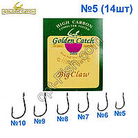 Крючок GC розовый Big Claw №5 (14шт) 5547305 *