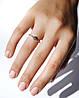 Кольцо из серебра с цирконием Twiddle Jewelry 17.0 (К009-17.0), фото 2