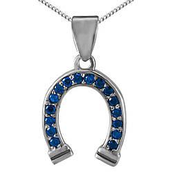 Кулон из серебра с кубическим цирконием Twiddle jewelry (П117с)