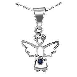 Кулон из серебра с кубическим цирконием Twiddle Jewelry (П124с)