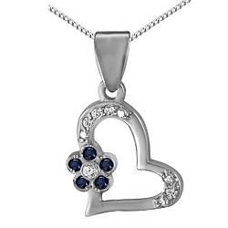 Кулон из серебра с кубическим цирконием Twiddle Jewelry (П127с)