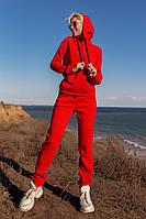 Женский спортивный костюм утепленный (трехнитка на флисе)