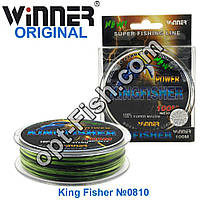 Леска Winner Original Power King Fisher №0810 100м 0,25мм