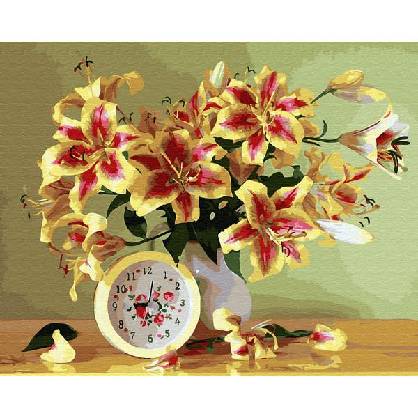 Время дарить цветы (GX33911). Картины по номерам 40×50 см.