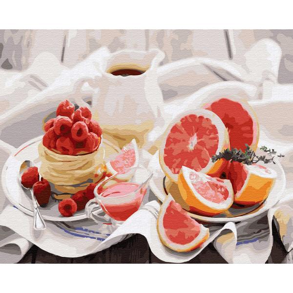 Полезный завтрак (GX30655). Картины по номерам 40×50 см.