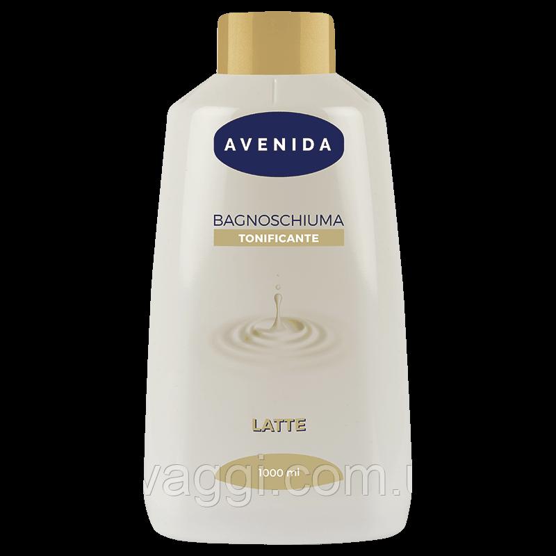 Гель для душа и пена для ванной с экстрактом Молока Avenida Bagno Schuima Latte 1000 ml