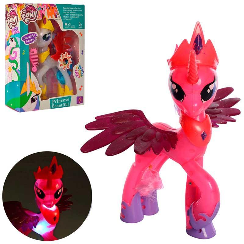 """_x000D_ Іграшка """"Конячка-поні"""" 060, світло, звук"""