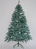 """Искусственная литая елка """"Буковельская Премиум"""", голубая, высота 2,1 м, фото 1"""