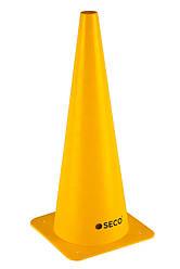 Тренировочный конус SECO 48 см цвет: желтый