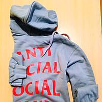 Толстовка Anti Social Social Club ASSC 2AM Hoodie | Худи ASSC | Кенгуру АССЦ