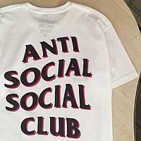 Футболка ASSC Black Pink   Новенькая   Бирка Anti Social Social Club