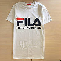 Fila Гоша Рубчинский Фила • Топовая мужская футболка • Бирка вшитая