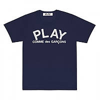 Футболка з принтом Comme des Garcons Play Logo Classic чоловіча