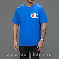 Champion Футболка мужская • Синяя, фото 1
