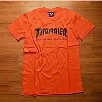 Футболка Thrasher Оранж. Оригинальная бирка