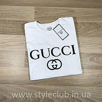 Футболка Gucci белая