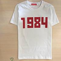 Футболка Гоша Рубчинский 1984   Бирка   Живые фото