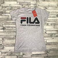 Fila Гоша Рубчинский футболка женская. Бирки в порядке. Живые фотки, фото 1