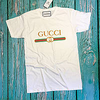 Футболка Gucci мужская белая