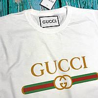 Футболка Gucci женская белая