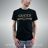 Футболка Gucci мужская чёрная