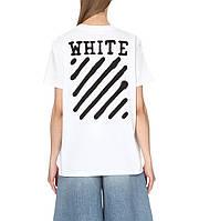 Женская Футболка OFF WHITE