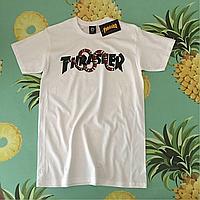 Thrasher X Gucci футболка белая • Люкс бирка • Отличные фотки