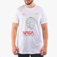 Футболка чёрная NASA voyage • насса