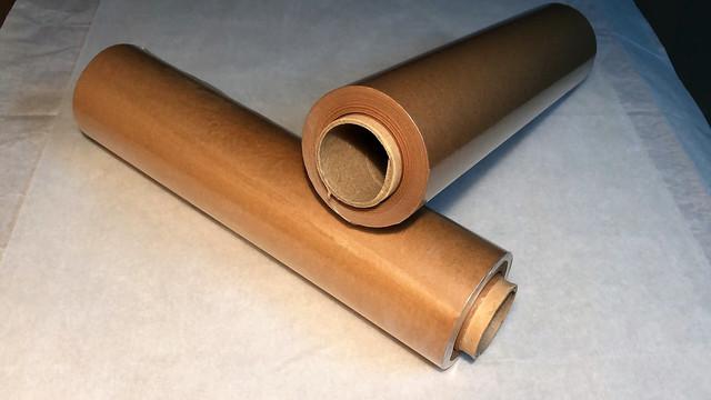 Бумага упаковочная (подпергамент) коричневая