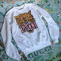 Свитшот белый Gucci • Бирки ориг •