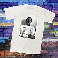 Белая футболка Asap Rocky