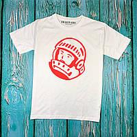 Белая футболка Billionaire