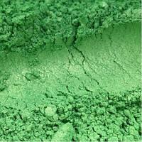 Пигмент перламутровый Зеленый 769 (10-60 μm). Для мыла, маникюра, декора, смолы,бетона. 70 мл