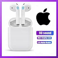 Беспроводные наушники Apple Airpods 2 pro с микрофоном, навушники гарнитура Bluetooth Apple Airpods 2 pro