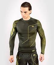 Рашгард мужской Venum Loma Commando Rashguard Long Sleeves Khaki, фото 2