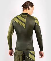 Рашгард мужской Venum Loma Commando Rashguard Long Sleeves Khaki, фото 3