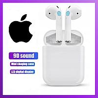 Беспроводные наушники i120 с микрофоном и сенсорным управлением, беспроводная гарнитура Bluetooth наушники
