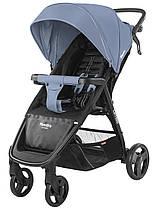 Коляска прогулочная CARRELLO Maestro CRL-1414 Soft Blue +дождевик