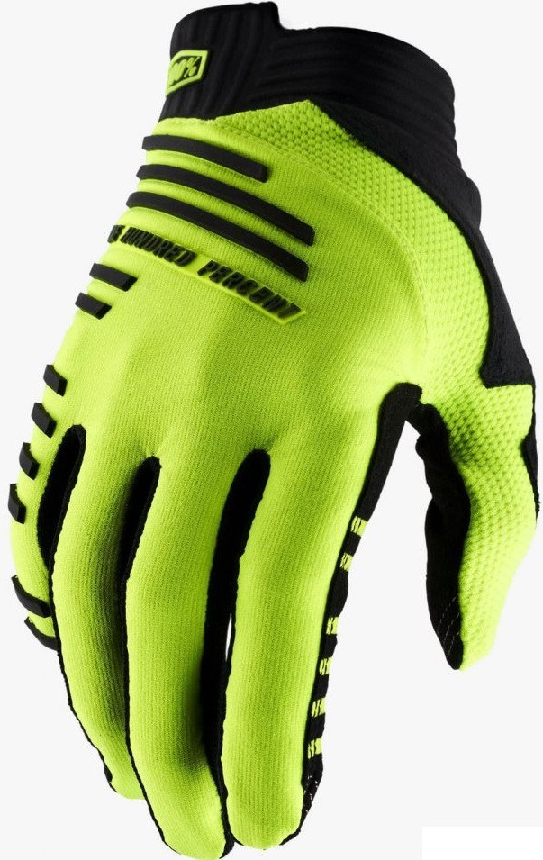 Вело перчатки Ride 100% R-CORE Glove [Fluo Yellow], M (9)