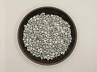 Кондитерская посыпка Сердца Серебро - 50 грамм