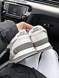 Женские зимние кроссовки New Balance NB 574 на меху PA292 серые, фото 2
