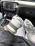 Женские зимние кроссовки New Balance NB 574 на меху PA292 серые, фото 3
