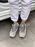 Женские зимние кроссовки New Balance NB 574 на меху PA292 серые, фото 6