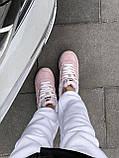 Женские зимние кроссовки New Balance NB 574 на меху PA294 розовые, фото 6