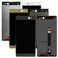 Дисплей для Sony Xperia XA Ultra F3212, F3215, F3216, модуль в сборе (экран и сенсор), оригинал, фото 1