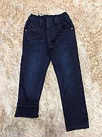 Джинсовые брюки для мальчиков на флисе F&D 4-6 лет