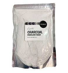 Альгинатная маска для лица с древесным углем Lindsay Premium Charcoal Modeling Mask Pack