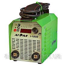 Инвертор сварочный АТОМ I-180D с байонетными штекерами без кабелей (вариант C)