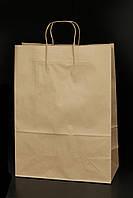 Пакет бумажный крафт (100 г/м2) 33*16*45 (возможно нанесение лого)